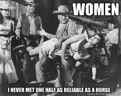 Funny John Wayne quote. Image is from