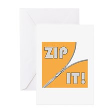 Zip It! Greeting Card for