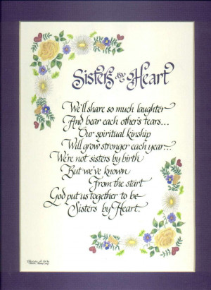 Short Poems About Sisters Love
