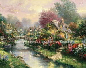 Thomas Kinkade Mountain...