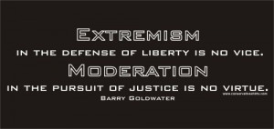 liberty is no vice. Moderation in the pursuit of justice is no virtue ...