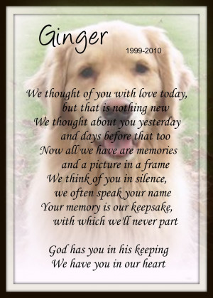pet memorial stone memorial pet portraits pet memorial poems memorial ...