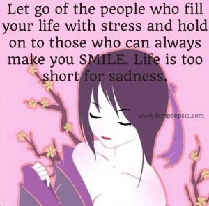 Let go quote via www.IamPoopsie.com
