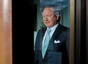 Door closes and a door opens for Andrew Forrest. Photo: Andrew Meares