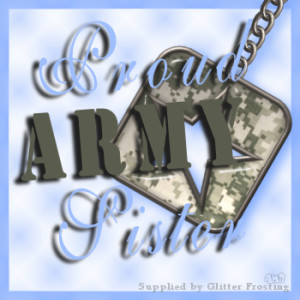 Proud Army Sister Image