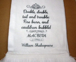 Macbeth The Witches' Spell Double Double Toil & by missbohemia, £14 ...