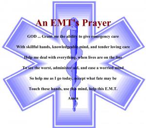 EMT Prayer