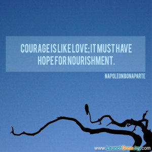 Great quote from Napoleon Bonaparte