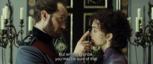 But sin has a price you may be sure of that - Anna Karenina (2012)