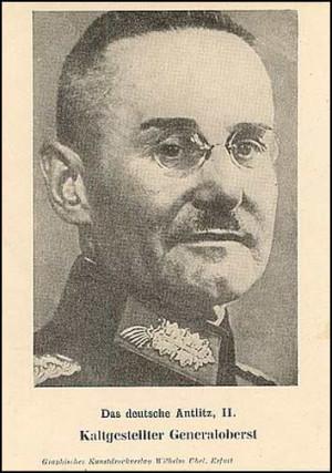 648 / Q.28, The General Halder Postcard Drucksache