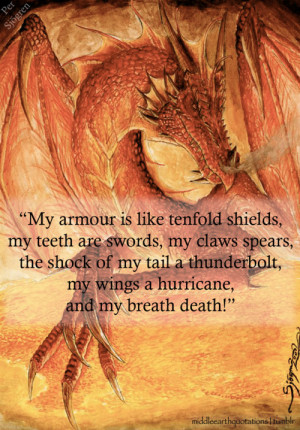 Smaug the Dragon to Bilbo, The Hobbit, Inside Information