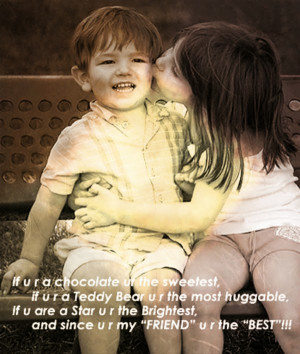Happy Friendship Day Cute Lovely Quotes Wallpapers