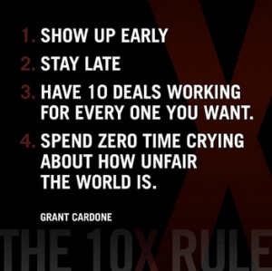 ... succeed in sales: 4 tips from Grant Cardone to 10X your sales career