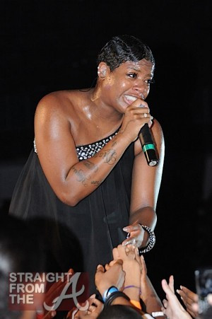 Fantasia Baby Bump Fantasia barrino was spotted