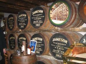 Jameson Whiskey Kegs Image