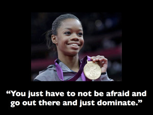 Gabby Douglas Quotes Saying and being