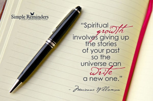Spiritual growth...