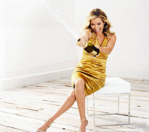 Becki Newton Lucky Magazine