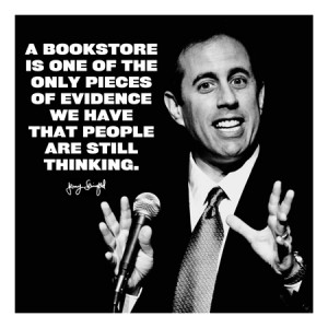 Jerry Seinfeld Quote Canvas Art Print