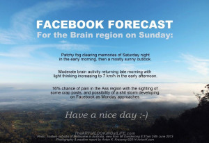 ... weather report fog clouds Melbourne Mt Dandenong funny photo AntonK