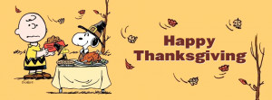 thanksgiving charlie brown facebook timeline cover picture