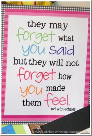 Kindergarten Teacher Quotes My favorite quotes.. and