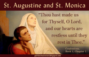 The Feasts of Saint Monica and Saint Augustine