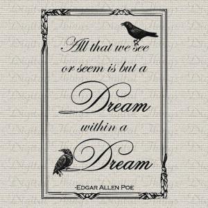 Edgar Allan Poe - Dream Within a Dream