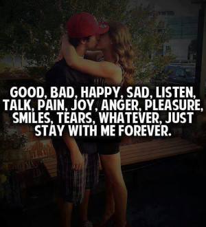 Good, Bad, Happy, Sad, Listen, Talk, Pain, Joy, Anger, Pleasure ...