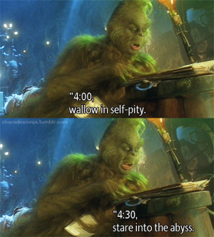the grinch gif #jim carrey #my lifestory