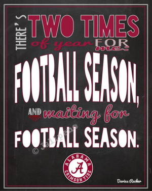 ... for the football season or a gift for that tide fan you know roll tide