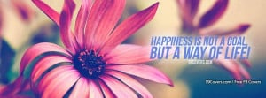 Happiness Quote Facebook Covers