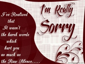 sorry awesome heartfelt apologies i am truly sorry apology for lover ...