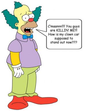 Krusty the clown pic