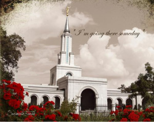 Sacramento Temple with quote Buy Now