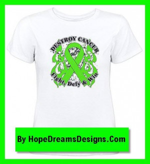 shirts with motto fight, defy and win for Non-Hodgkin's Lymphoma ...