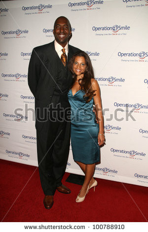 John Salley And His Wife...