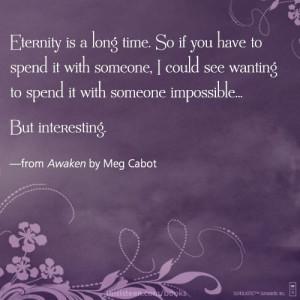 from AWAKEN by Meg Cabot #quotes #YAlitquotes #MegCabot #books # ...