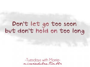 Best Quotes Tuesdays With Morrie ~ ??:tuesdays with morrie quote ...