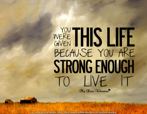 ... Quotes archive. Motivational Quotes: Please Be Strong picture, image