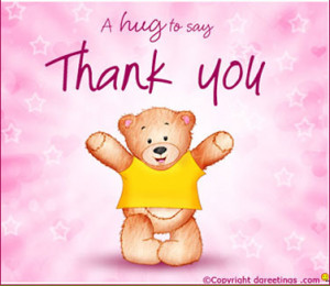 Hug To Say Thank You ""