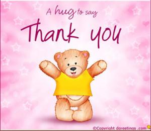 """Hug To Say Thank You """""""