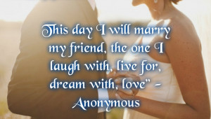 Wedding Day Quotes for Card Invitation