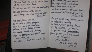 Johnny Cash Quotes Tattoo