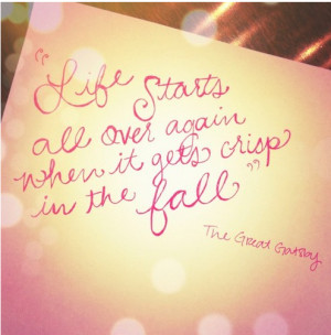 Can't Resist A 'Great Gatsby' Quote