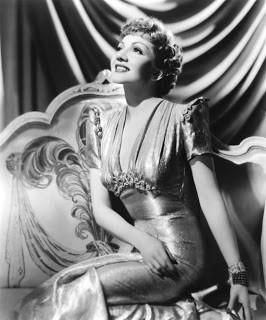 COLBERT, CLAUDETTE (Lily Claudette Chauchoin) (1903–1996) Actress