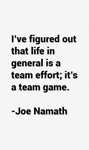 Joe Namath Quotes & Sayings
