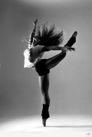 jazzdance, black and white, dance, dancer, dancing, girl, pointes ...