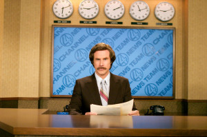 ... Ron Burgundy (Will Ferrell) Copyright: DreamWorks Pictures / Apatow