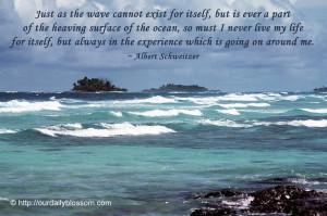 Sayings, Quotes: Albert Schweitzer